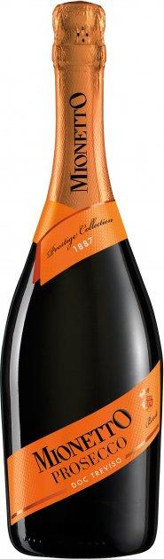 Вино игристое Mionetto Prestige Collection Prosecco Treviso DOC белое брют 0.75 л 11% (8006220001669) - изображение 1