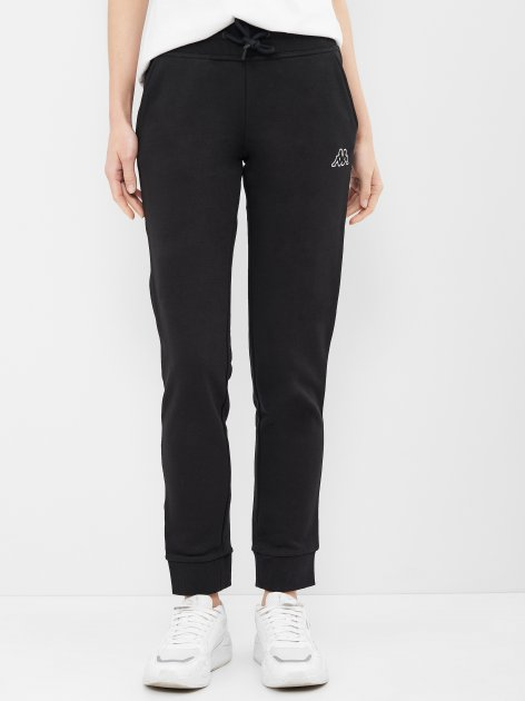 Спортивные штаны Kappa 107988-99 42 Черные (4670036621768) - изображение 1