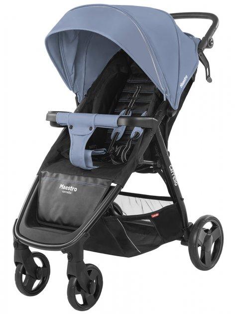 Коляска прогулочная CARRELLO Maestro CRL-1414 Soft Blue +дощовик L /1/ MOQ - зображення 1