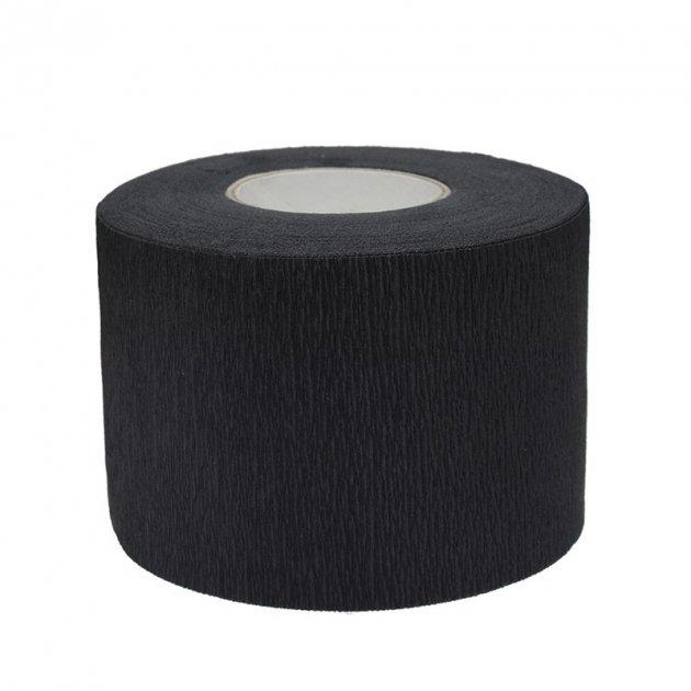 Воротнички одноразовые защитные для парикмахера, барбера Черные Mashele Black (1 шт.) - изображение 1