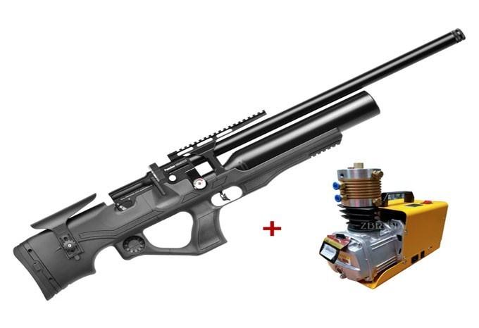 Гвинтівка пневматична Kral Nemesis Synthtetic PCP + Компресор ВД !!! - зображення 1