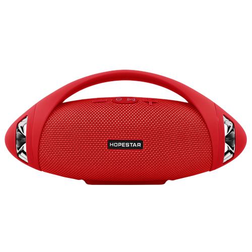 Портативная Bluetooth колонка Hopestar Boombox H37 24 см Red - изображение 1
