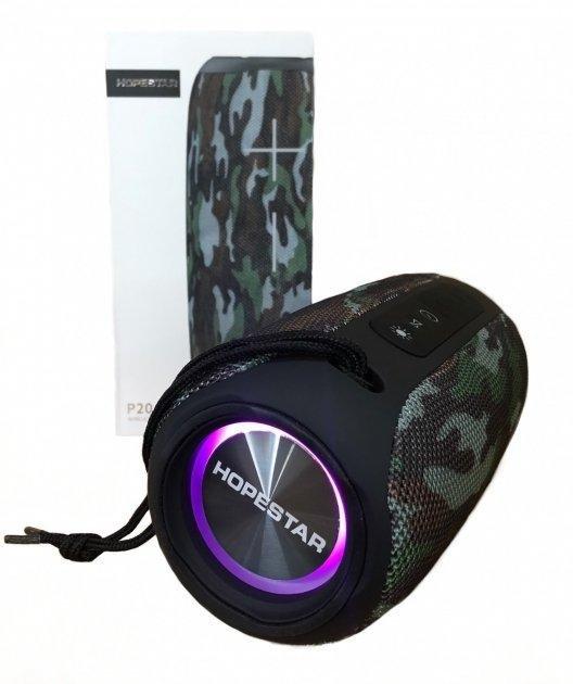 Портативная Bluetooth колонка Hopestar P20 беспроводная c подсветкой 10Вт - изображение 1