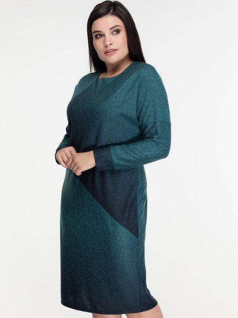Платье All Posa Арабелла 1408-1 50 Зеленое - изображение 1