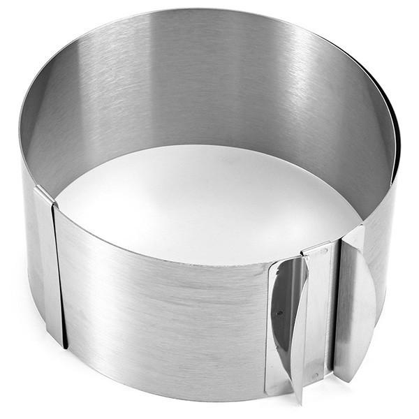 Форма раздвижная круглая Hauser высота 10 см - зображення 1