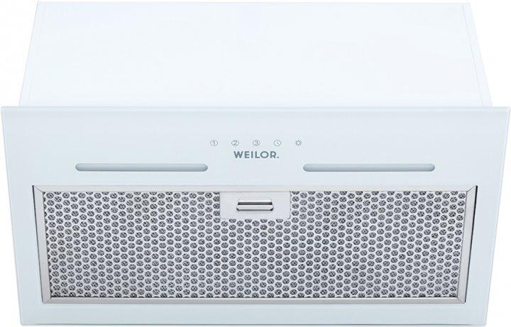 Вытяжка WEILOR PBS 52300 GLASS WH 1000 LED Strip - изображение 1