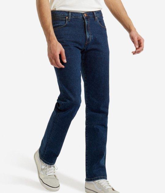 Джинси Wrangler Arizona Straight Classic Fit (W12ORS26J) Синій 40-32 - зображення 1