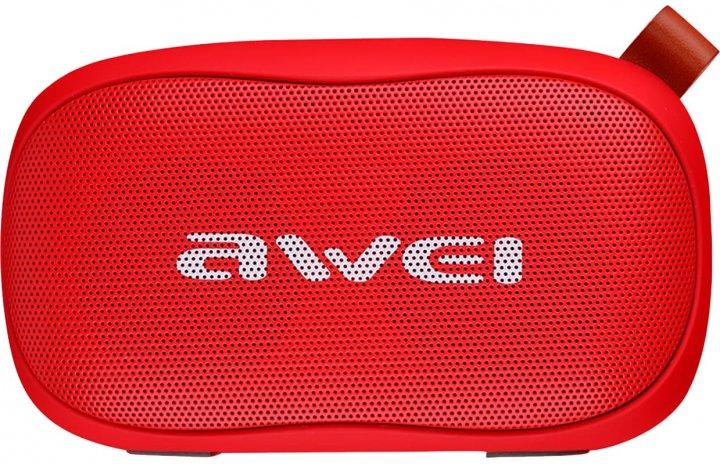 Портативная акустика AWEI Y900 Bluetooth Speaker Red (305_19) - изображение 1