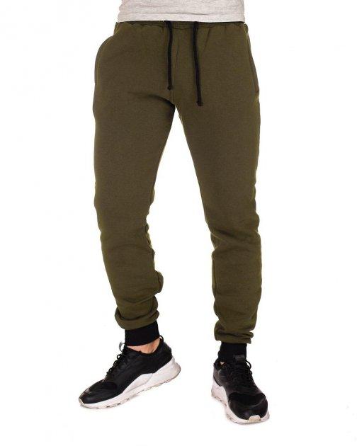 Спортивные мужские штаны Sprintom хлопок XL, хаки - изображение 1