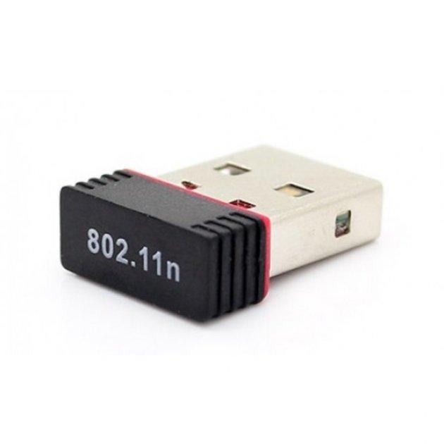 Адаптер USB WiFi n/n MINI (на чіпі 7601) 2 dBi 150 Мбіт/с адаптер b/g/n - зображення 1