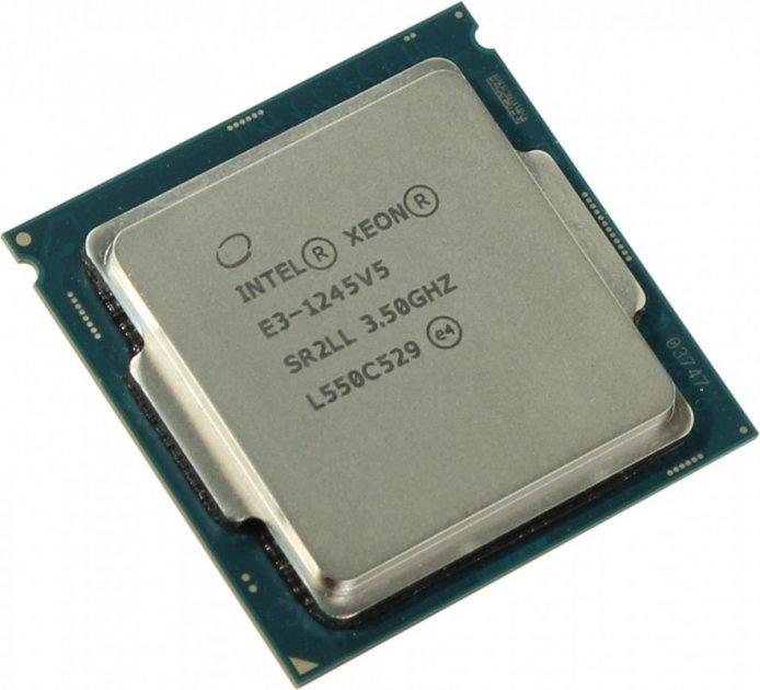 Процессор Intel Xeon E3-1245 v5 socket 1151 б/у - зображення 1