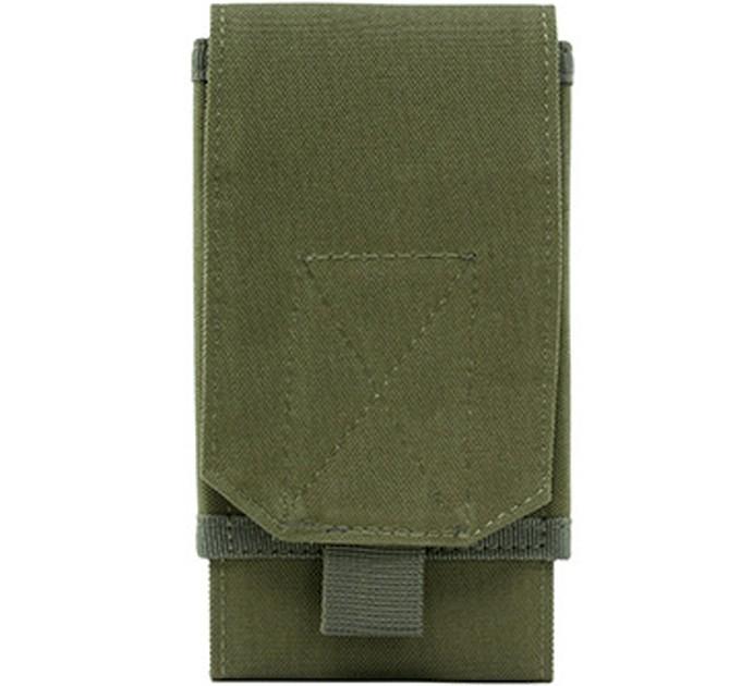 """Сумка подсумок на пояс для телефона Tactical с диагональю от 5"""" до 7"""" Olive (0101-olive) - изображение 1"""