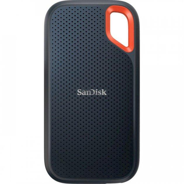 Портативний SSD SanDisk Extreme Portable Extreme E61 1 ТВ Portable USB 3.2 Type-C 3D NAND, TLC Black (SDSSDE61-1T00-G25) - зображення 1