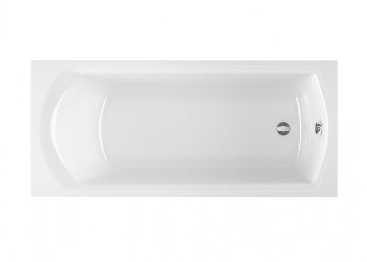 Ванна Radaway Kea 150x75 см акрилова + ніжки (WA1-04-150x075U) - зображення 1