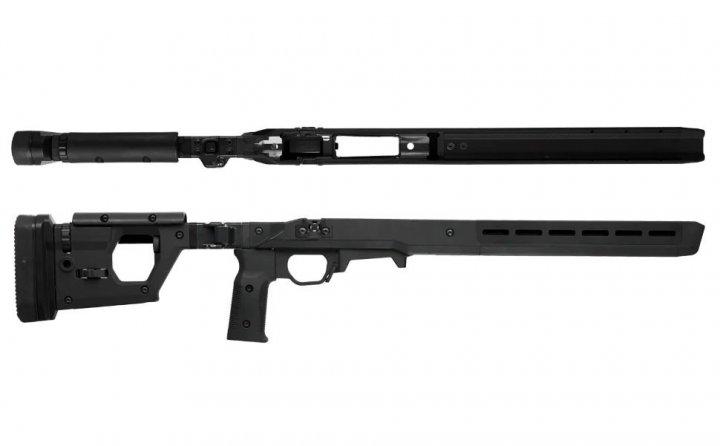 Ложа Magpul PRO 700 для Remington 700 Short Action. Колір - чорний - зображення 1