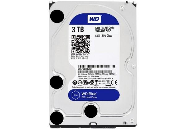 """Жесткий диск 3.5"""" 3Tb WD WD30EZRZ Blue Factory Recertified - изображение 1"""