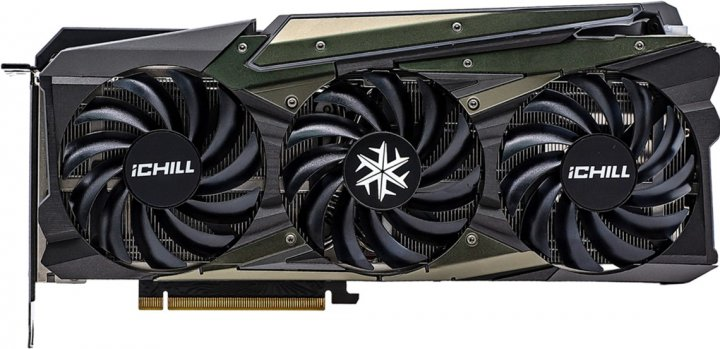 INNO3D PCI-Ex GeForce RTX 3080 Ti iChill X4 12GB GDDR6X (384bit) (1710/19000) (HDMI, 3 x DisplayPort) (C308T4-126XX-1810VA36) - зображення 1