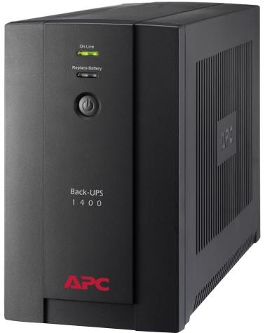 Джерело безперебійного живлення APC Back-UPS 1400VA IEC (BX1400UI) - зображення 1