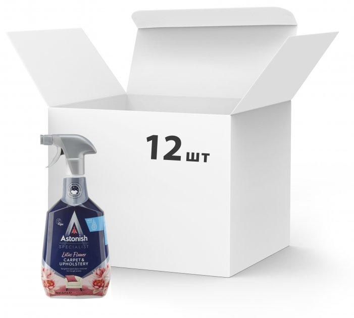 Упаковка специального пятновыводителя Astonish для ковров и текстильных поверхностей 750 мл х 12 шт (55060060211082) - изображение 1