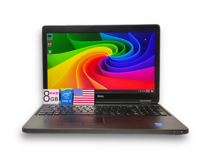 Ноутбук Dell Latitude E5550 15.6 i5-5200U 8GB 500GB Б/У - зображення 1