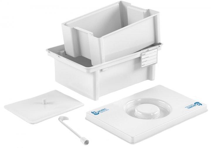 Контейнер полимерный Волес для дезинфекции и предстерилизационной обработки медицинских изделий ЕДПО-10-02 (503962) - изображение 1