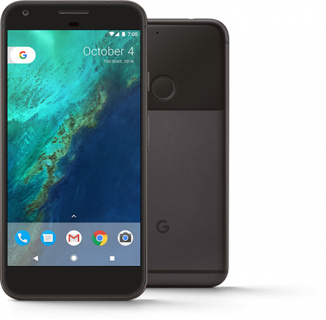 Смартфон Google Pixel XL 128GB Quite Black Seller Refurbished - зображення 1