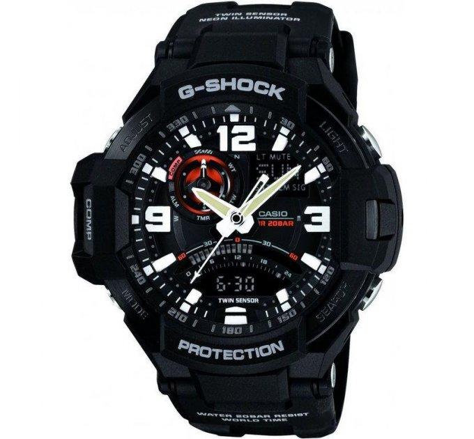 Мужские часы Casio G-Shock Sport GA-1000-1A - изображение 1