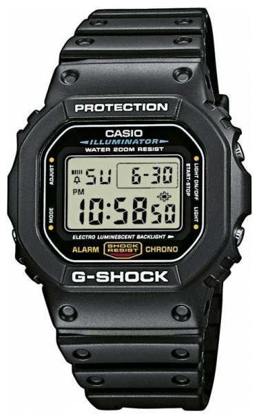 Чоловічий годинник Casio G-Shock DW-5600E-1VER - зображення 1