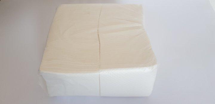 "Серветка паперова целюлозна біла ""Аметист"" (240*240мм) 500 арк. - изображение 1"