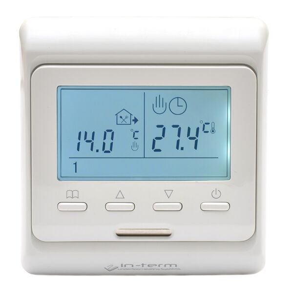 Терморегулятор In-Therm E51.716 для теплої підлоги (програмований) - зображення 1