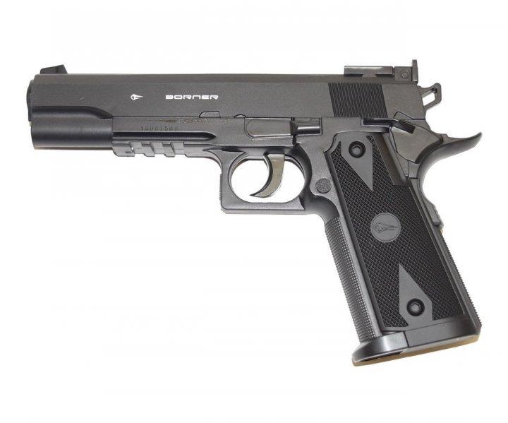 Пистолет пневматический Borner Power Win 304 (Colt) - изображение 1