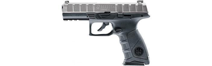 Пневматичний пістолет Umarex Beretta APX metal grey - зображення 1