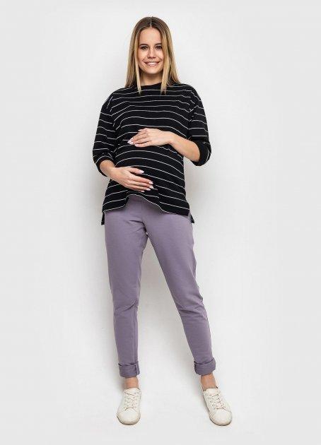 Штани для вагітних Koko boutique L/XL сіро-бузковий - зображення 1
