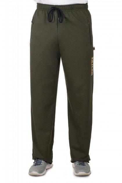 Спортивные брюки с металлической молнией 52 Хаки (208) - изображение 1