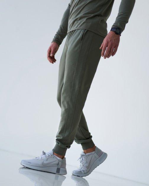 Спортивні штани тонкі GR8 active wear модель 7т2-оливковий розмір M - зображення 1