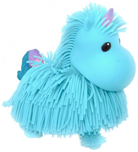 Интерактивная игрушка Jiggly Pup Волшебный Единорог голубой (JP002-WB-BL)