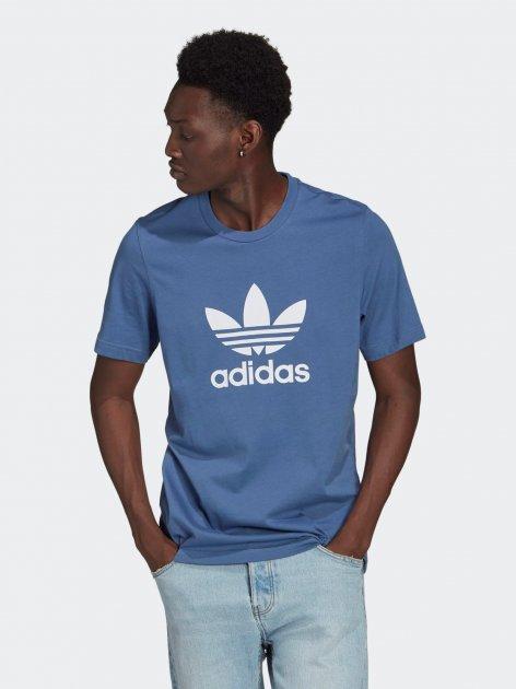 Футболка Adidas Trefoil T-Shirt GN3467 M Creblu/White (4064045945289) - изображение 1