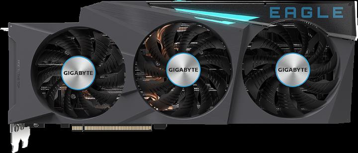 Gigabyte PCI-Ex GeForce RTX 3080 Ti EAGLE 12G 12GB GDDR6X (384bit) (1665/19000) (2 х HDMI, 3 x DisplayPort) (GV-N308TEAGLE-12GD) - зображення 1