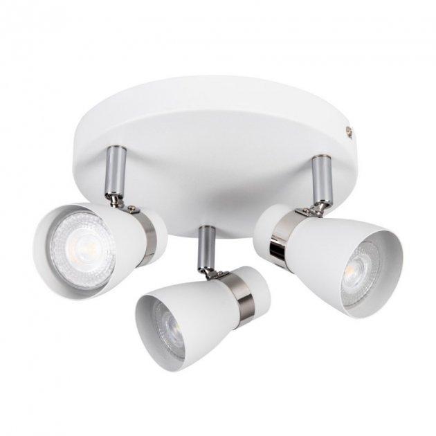 Светильник спот Kanlux ENALI EL-3O-W 3xGU10 IP20 белый 28764 - изображение 1