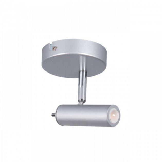 Светильник спот Kanlux TUME LED EL-1O 6W 3000K IP20 серый 24450 - зображення 1