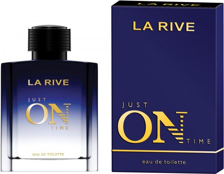Мужская туалетная вода La Rive Just On Time 100 мл (5901832066842) - изображение 1
