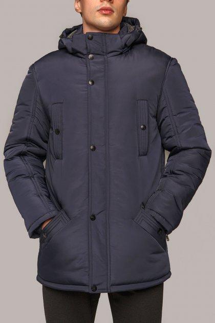 Зимняя куртка Miorichi КМ-7.3 58 Темно-синий (01101-blue58) - изображение 1