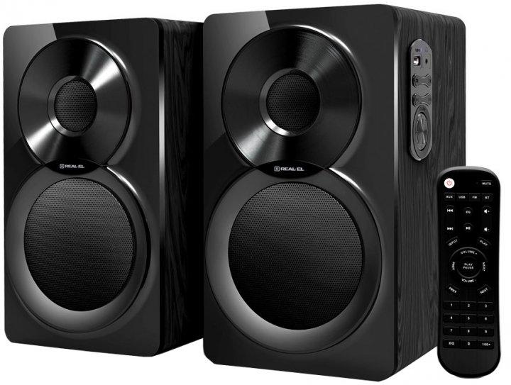 Акустична система Real-El S-450 Black (EL121200005) - зображення 1