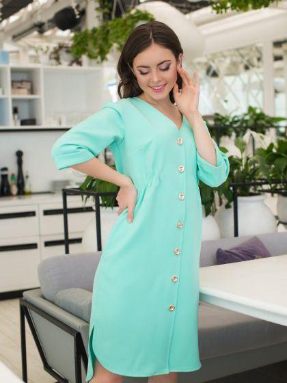 Платье ELFBERG 358 48 Мятное (2000000347035) - изображение 1