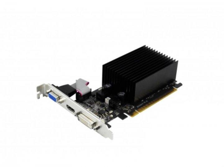 Видеокарта PCI-e Palit GeForce 210, 1024MB, GDDR3, 64-bit, VGA/ DVI/ HDMI (NEAG2100HD06-1193H) Б/У - изображение 1