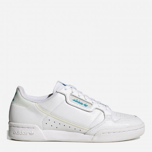 Кросівки Adidas Originals Continental 80 W FU9975 36.5 (5) 23.5 см Ftwwht/Owhite/Cblack (4060517073061) - зображення 1