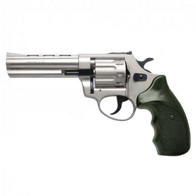 """Револьвер під патрон флобера PROFI (4.5"""", 4.0 мм), сатин-пластик - зображення 1"""