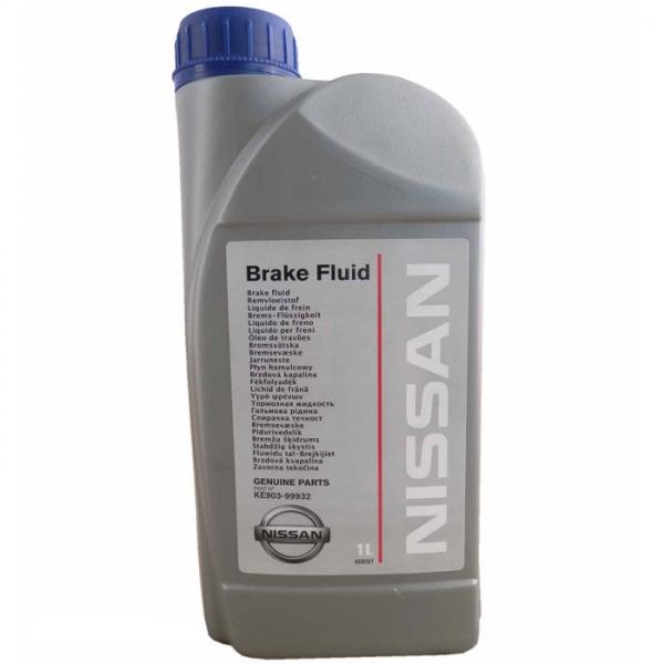 Гальмівна рідина Nissan Brake Fluid 1 л (KE903-99932) - зображення 1