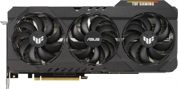 Asus PCI-Ex GeForce RTX 3080 Ti TUF Gaming OC 12GB GDDR6X (384bit) (1755/19000) (2 x HDMI, 3 x DisplayPort) (TUF-RTX3080TI-O12G-GAMING) - зображення 1