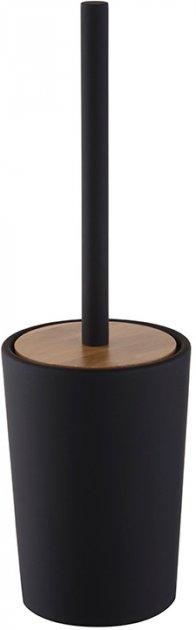Йоржик для унітаза BISK Plain 8124 чорний - зображення 1